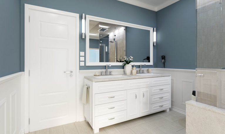 How to choose a paint finish for interior paint for Best paint finish for bathroom